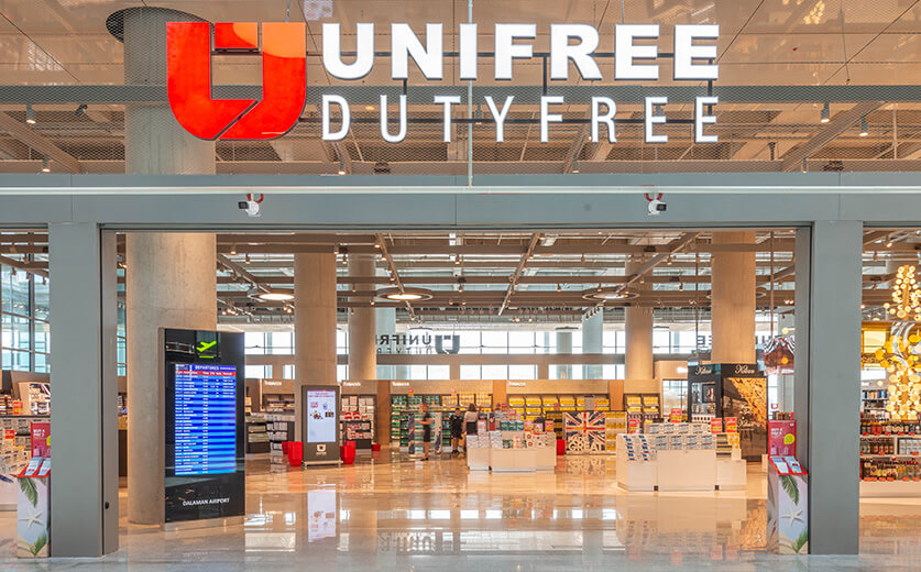 Unifree Duty Free at İstanbul Airport!